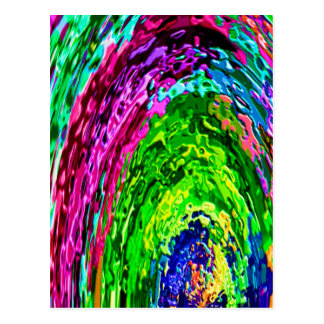 De rijke Golven van de Regenboog V7 Briefkaart