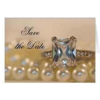 De Ring en de Parels van de Diamant van de prinses Briefkaarten 0