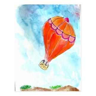 De Rit van de Ballon van de hete Lucht Wens Kaarten