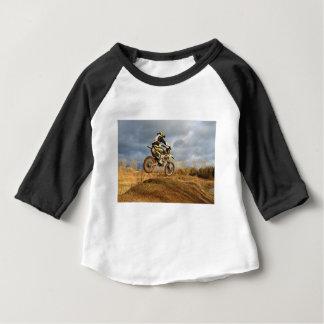 De Rit van de Fiets van het vuil Baby T Shirts