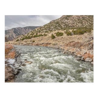 De Rivier van Arkansas in Colorado Briefkaart
