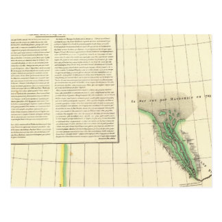 De Rivier van Mackenzie, Yukon Briefkaart