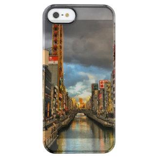 De Rivier van Osaka Doorzichtig iPhone SE/5/5s Hoesje