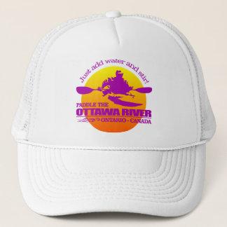 De Rivier van Ottawa (Zonsondergang) Trucker Pet
