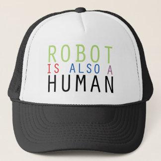 De robot is ook een Menselijke Koopwaar Trucker Pet
