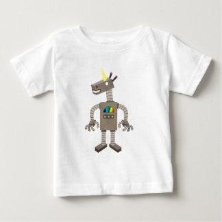 De Robot van de eenhoorn Baby T Shirts