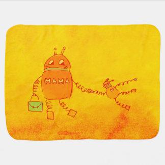 De Robot van Geek van Robomama Inbakerdoek
