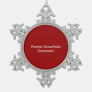 De Rode Achtergrond van het Ornament van de Sneeuw