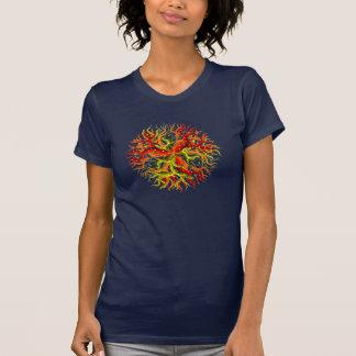 De rode Baobab van VB T Shirt