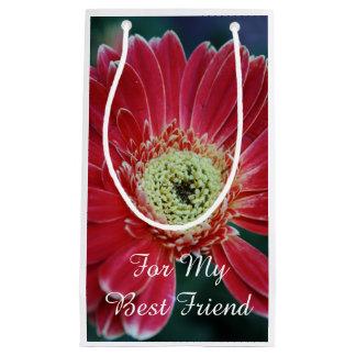 De rode Beste Vriend van de Bloem Gerbera Klein Cadeauzakje