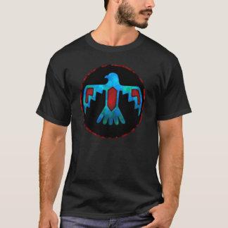 De rode & Blauwe T-shirt van Thunderbird