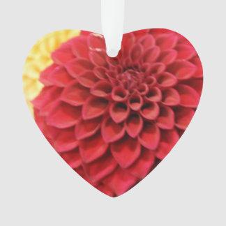 De rode Bloem van de Dahlia Ornament