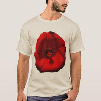 De rode Bloem van de Glorie van de Ochtend T Shirt