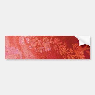 De rode Bloemen Klantgerichte Sticker van de Bumpersticker
