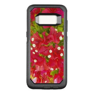 De rode Bloemen van Bougainvillea OtterBox Commuter Samsung Galaxy S8 Hoesje