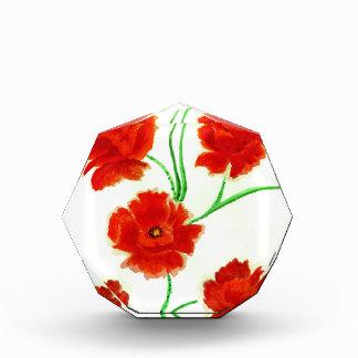 De rode Bloemen van de Papaver Acryl Prijs