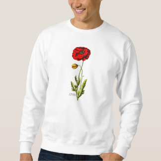 De Rode BloemenOpium van de Bloem van de Papaver Trui