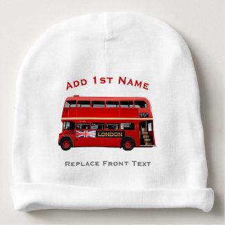 De rode Bus Themed van Londen Baby Mutsje