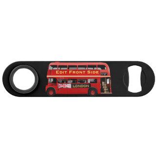 De rode Bus Themed van Londen Speed Flessenopener