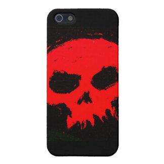 De Rode Dood van de Schedel van Skully iPhone 5 Hoesje