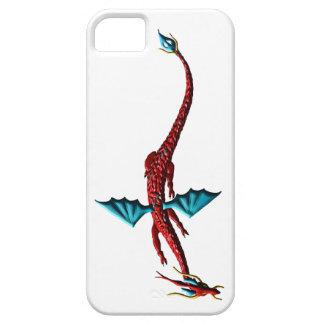De rode Draak van het Serpent Barely There iPhone 5 Hoesje