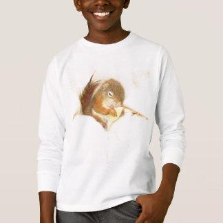 De rode eekhoorn van het huisdier, Gebruis, T Shirt