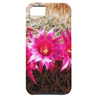 De rode Geleide Klantgerichte Cactus van de Ier! Tough iPhone 5 Hoesje