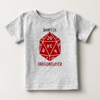 De rode Geweldige Kleding Geek van de Matrijs Baby T Shirts