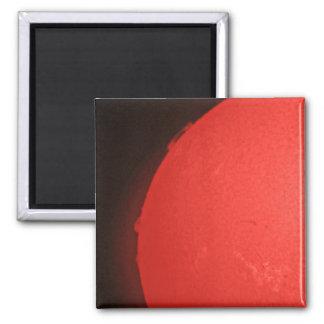 De rode Gloed van de Zon Magneet