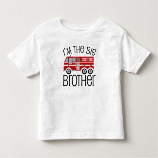 De rode Grote Broer van de Vrachtwagen van de Kinder Shirts
