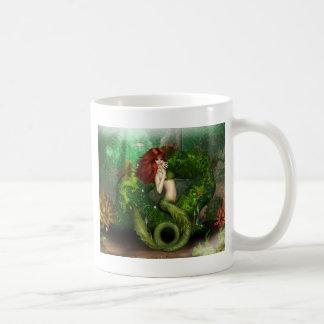 De rode Haired Mok van de Koffie van de Meermin