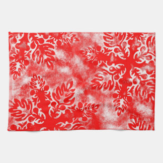 De rode Handdoek van Kerstmis van de Keuken van de