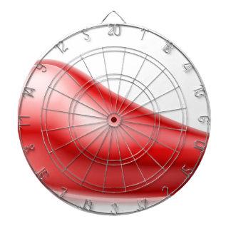 De rode Illustratie van de Peper van Spaanse Dartbord