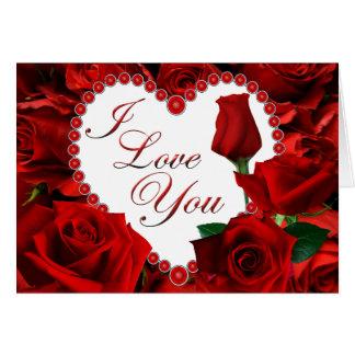 De rode Kaart van Valentijn van Rozen