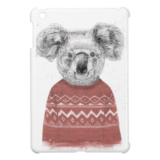 (De rode) koala van de winter Hoesje Voor iPad Mini