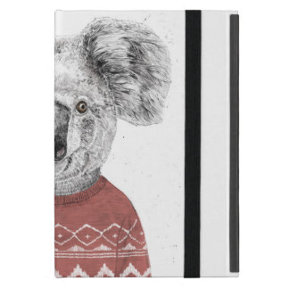 (De rode) koala van de winter iPad Mini Hoesje