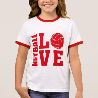 De rode Liefde van het Netball, Netball T Shirts