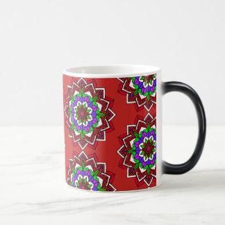 De Rode Paarse Blauwe Kop van de Koffie mystieke