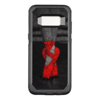 De rode Schoenen van Pointe van het Ballet OtterBox Commuter Samsung Galaxy S8 Hoesje