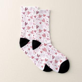 De rode Sokken van Valentijn van het Patroon van