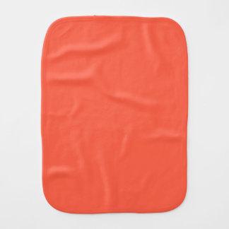 De Rode Stevige Kleur van de tomaat Baby Monddoekjes