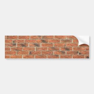 De rode Sticker van de Bumper Brickhouse