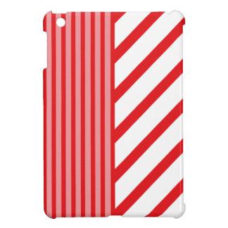 De rode Streep van het Koraal iPad Mini Hoesje