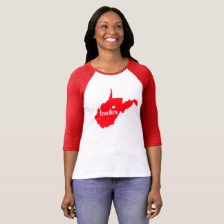 (De Rode) T-shirt Leraar van de West- van Virginia