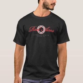 De rode T-shirt van de KWALITEIT van de Tand van