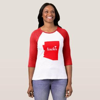 (De Rode) T-shirt van de Leraar van Arizona