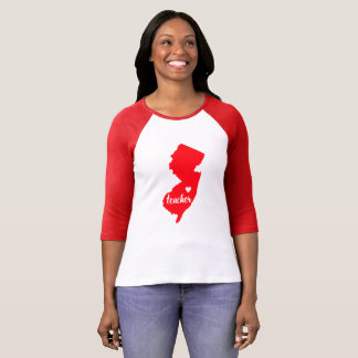 (De Rode) T-shirt van de Leraar van New Jersey