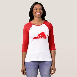 (De Rode) T-shirt van de Leraar van Virginia