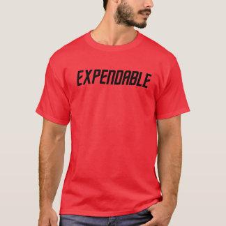 De rode T-shirt van de Science fiction van het