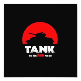 De rode Tank van de Maan 35.6 cm x 28 van het Foto
